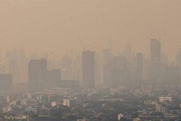 曼谷雾霾继续加剧或影响人体健康校园将停课3天